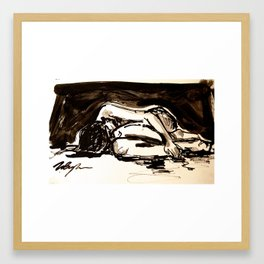 Twig and Ink #36 Framed Art Print