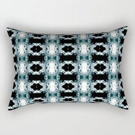 Dark Repeat Rectangular Pillow