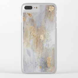 Over Black Clear iPhone Case