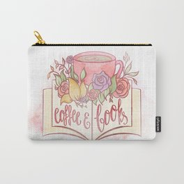 COFFEE & BOOKS Carry-All Pouch