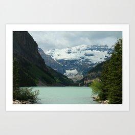 Peaceful Lake Louise Art Print