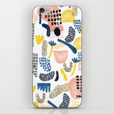 Erkins iPhone & iPod Skin