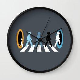 Keep Walking Wall Clock