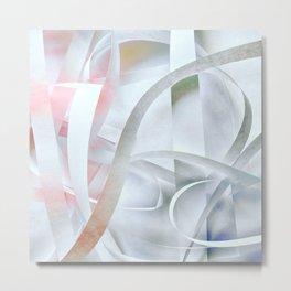 Paper colored pattern Metal Print