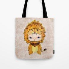 A Boy - Lion Tote Bag