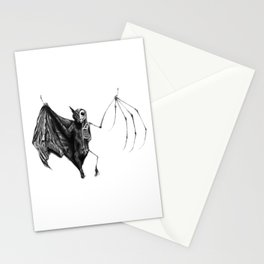 Half The Bat I Used To Be Stationery Cards