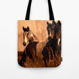 Horse Spirits Tote Bag