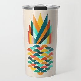 Groovy Pineapple Travel Mug