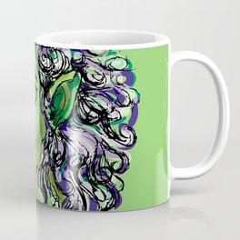 Female elf profile 1e Coffee Mug