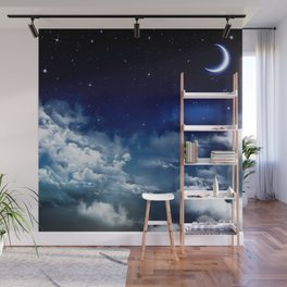 Silent Night Wall Mural