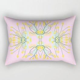 2941-Phebalium-Abstract-Pink Rectangular Pillow