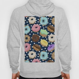 Donuts Love Pattern Hoody