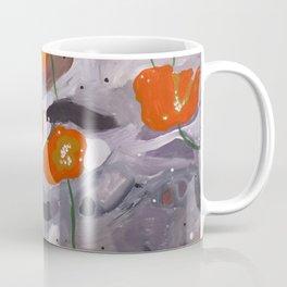 Poppies On Indian Rock Coffee Mug