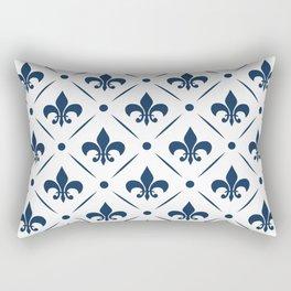 Fleur De Lis pattern Rectangular Pillow