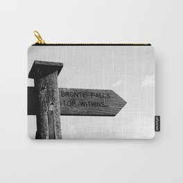 The Quiet Earth - Original Photographic Art Carry-All Pouch