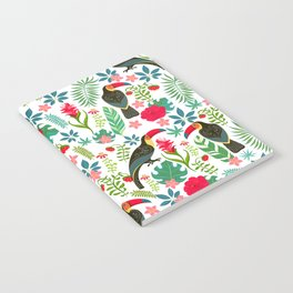 Floral Toucan Notebook