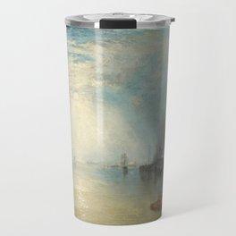 "J.M.W. Turner ""Keelmen Heaving in Coals by Moonlight"" Travel Mug"