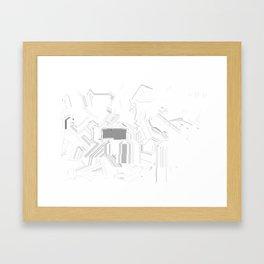 Minimaline Framed Art Print