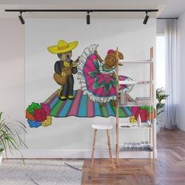 A La Fiesta Wall Mural