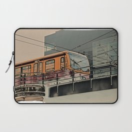 S-Bahn Berlin Kunst Laptop Sleeve