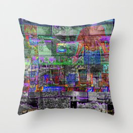 Boats, Ghosts, Beer And The Torso Of Bryan Cranston [A.N.T.S Series] Throw Pillow