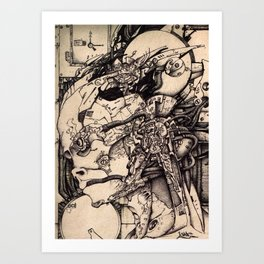 Android A Art Print