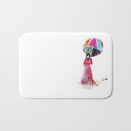 Ame O Ukeireru ( Embracing Rain ) Bath Mat