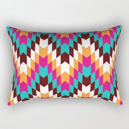 Tribal Chevron II Rectangular Pillow