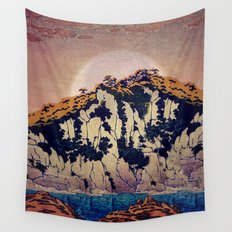 Guiding me across Nobe Wall Tapestry