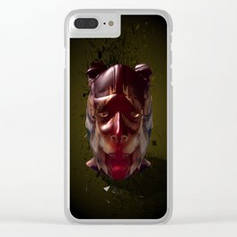 It's a mad world. Clear iPhone Case