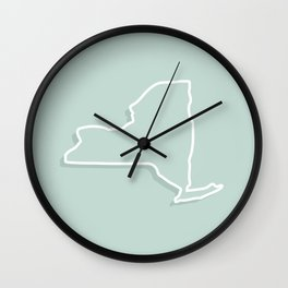 New York State Wall Clock
