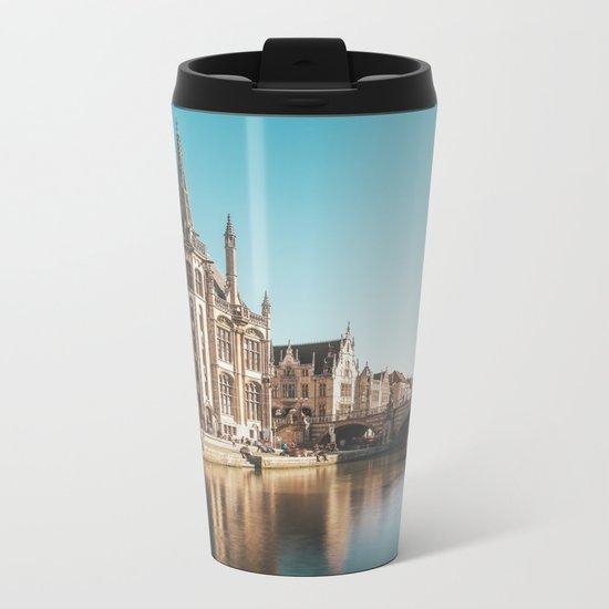 Magic Ghent Metal Travel Mug