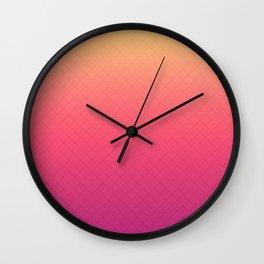 A hot evening . Wall Clock