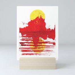 Heat Haze Mini Art Print
