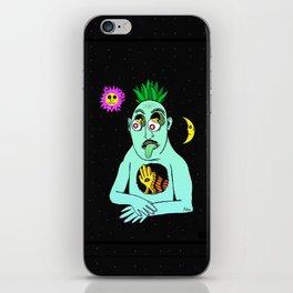 Trippy Face iPhone Skin
