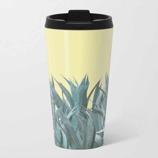 Agaves Metal Travel Mug