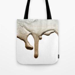 LIQUID SILVER & NUDE Tote Bag