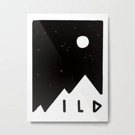 Wild Card Metal Print