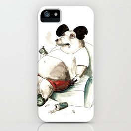 Mass Mickey iPhone Case