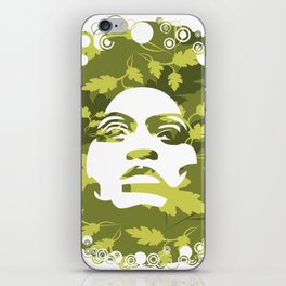 Natural Afro iPhone Skin