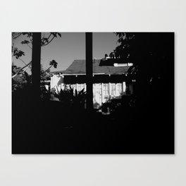 Behind Closed Doors Canvas Print