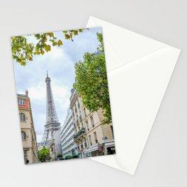 Eiffel Tower Peek a  Boo Stationery Cards