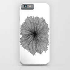 Jellyfish Flower B&W iPhone 6s Slim Case
