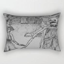 Come Along Rectangular Pillow