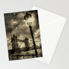 Tower Bridge vintage Stationery Cards