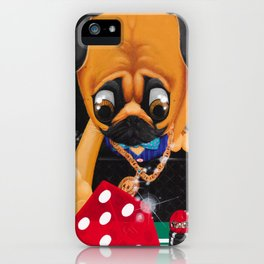 Pugsy the Playa iPhone Case