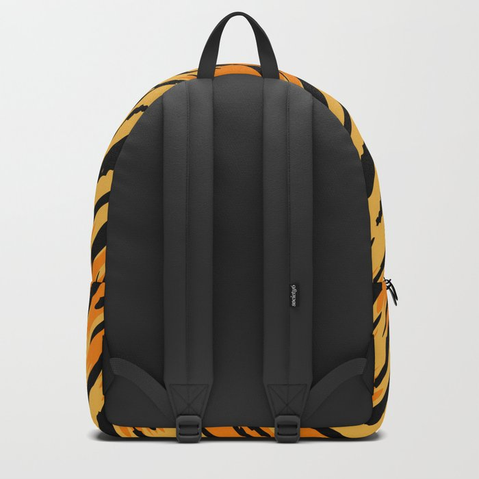 Tiger skin Backpack