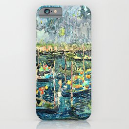 Maurice Brazil Prendergast - Festival, Venice - Digital Remastered Edition iPhone Case