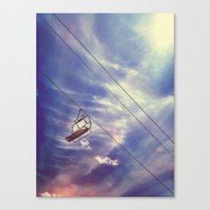 Cloud Chair Canvas Print