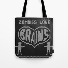 Zombie knitwear Tote Bag